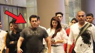 Race 3 के Bangkok Shooting से Mumbai लौटे Salman Khan और Jacqueline, देखिये Airport Video