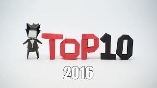 TOP 10 ORIGAMI - 2016
