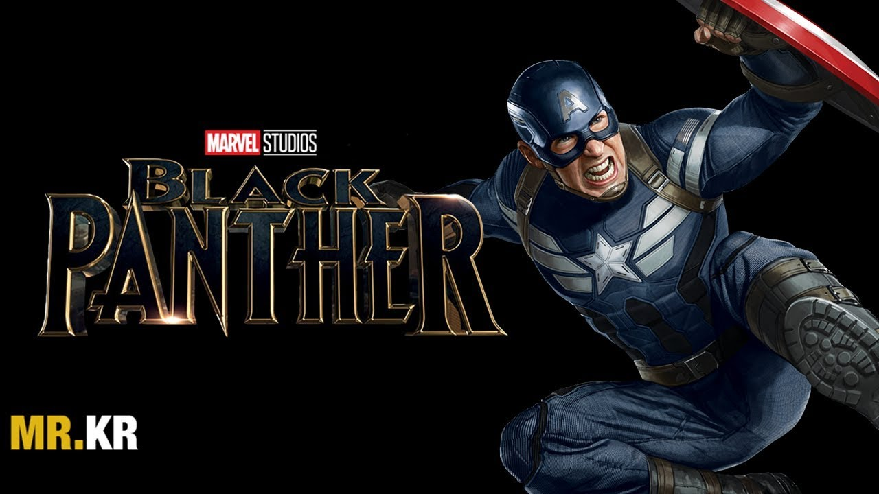 Captain America: The Winter Soldier – (Black Panther Style)