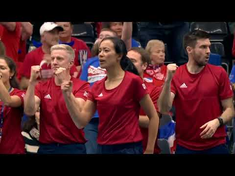 Great Britain's best Fed Cup action from Day 1 in Bath