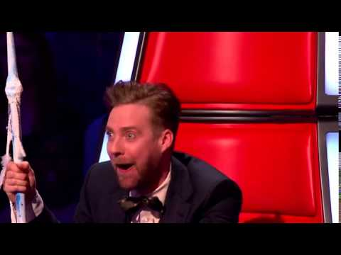 Ricky Wilson's Louis Walsh Impression