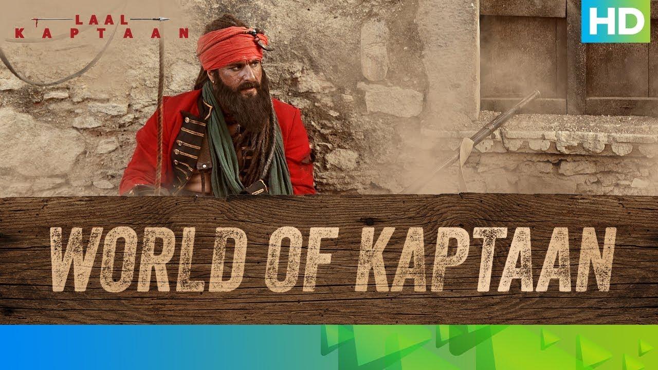 Behind The Scenes – The World of Kaptaan   Saif Ali Khan   Laal Kaptaan – 18th October 2019