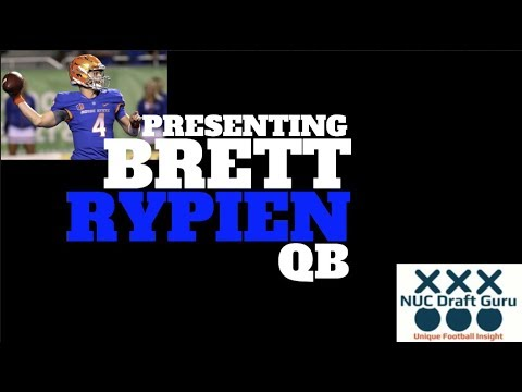 "Brett Rypien QB Boise State NFL Draft 2018  ""Mr. Deliver"""