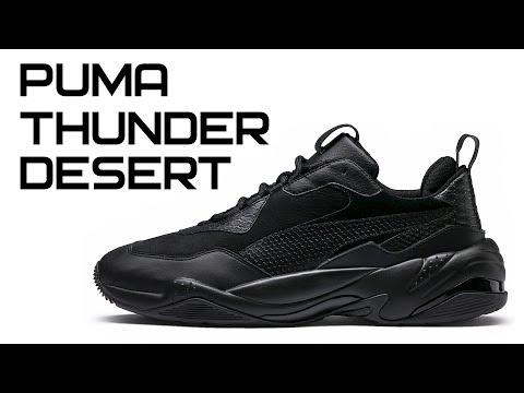 65cbf59a84a Обзор кроссовок Puma Thunder Desert - YouTube
