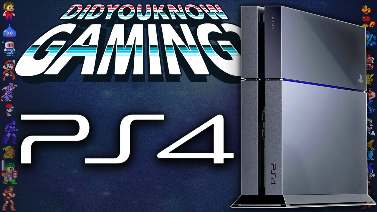 PlayStation 4 (PS4) - Did You Know Gaming? Feat. Caddicarus