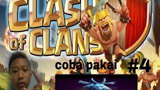 Coba pakai minions#CLASH OF CLANS INDONESIA PART 4#