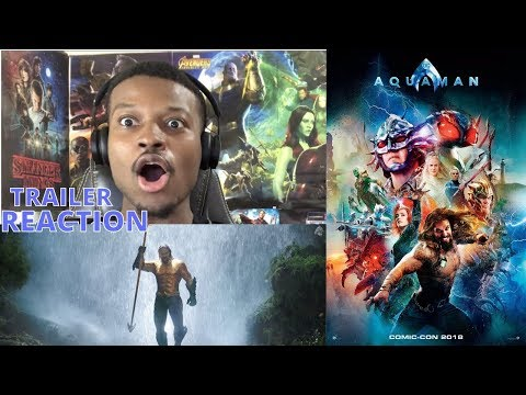 AQUAMAN – Extended Video Trailer 2 REACTION!!!