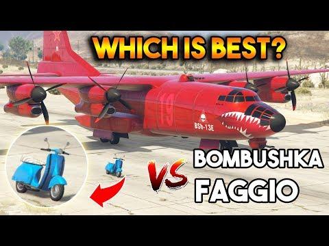 GTA 5 ONLINE : BOMBUSHKA VS FAGGIO (WHICH IS BEST?) [MOST REQUESTED VIDEO]