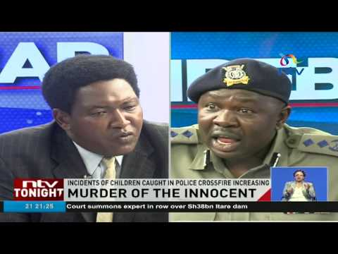 Charles Owino denies police violence during election protests