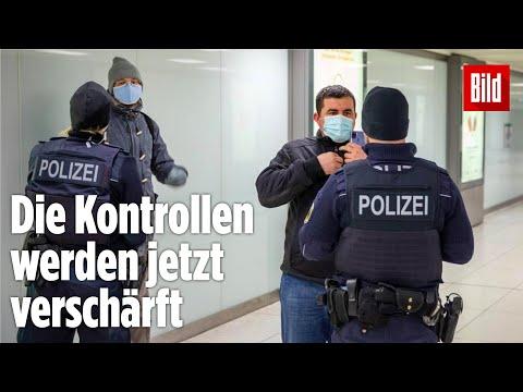 Corona in Deutschland: So kontrolliert die Polizei jetzt verschärft
