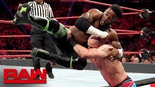 Cedric Alexander vs. Cesaro: Raw, Aug. 26, 2019