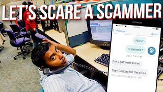 Calling a scammer bỳ his real name! Call Center Spy
