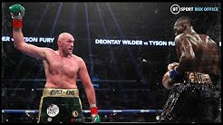 Tyson Fury taunting, showboating and jabbing Deontay Wilder's head off
