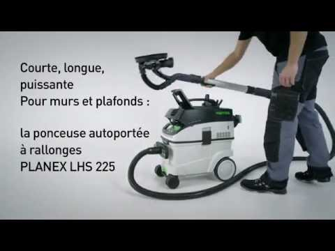ponceuse girafe planex lhs 225 ct 36 set festool youtube. Black Bedroom Furniture Sets. Home Design Ideas