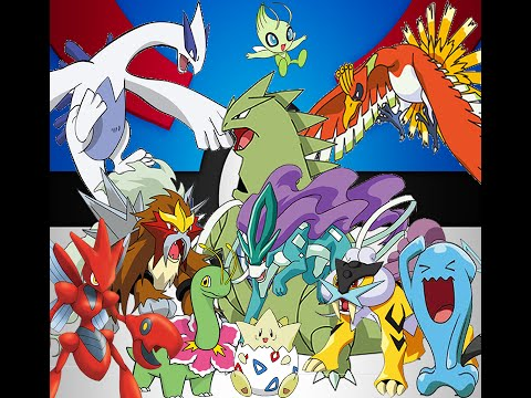 All Generation 2 Pokemon (152 - 251)