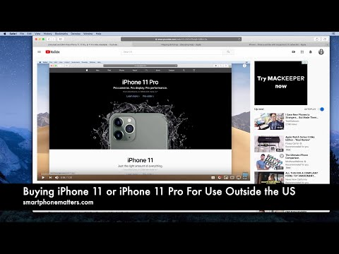 Buying IPhone 11 Or IPhone 11 Pro For Use Outside The US