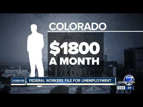 Hundreds Of Colorado Federal Workers File For Unemployment