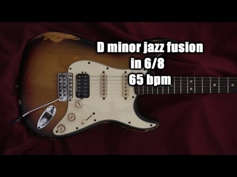 Fusion Style Backing Track in D Minor, Free MP3 Download