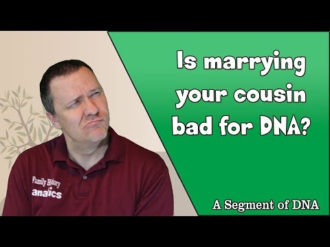 Is Marrying Your Cousin Bad? - A Segment Of DNA