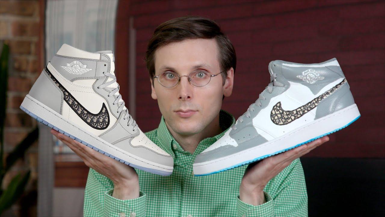 $2000 vs. $75 Dior Air Jordan 1