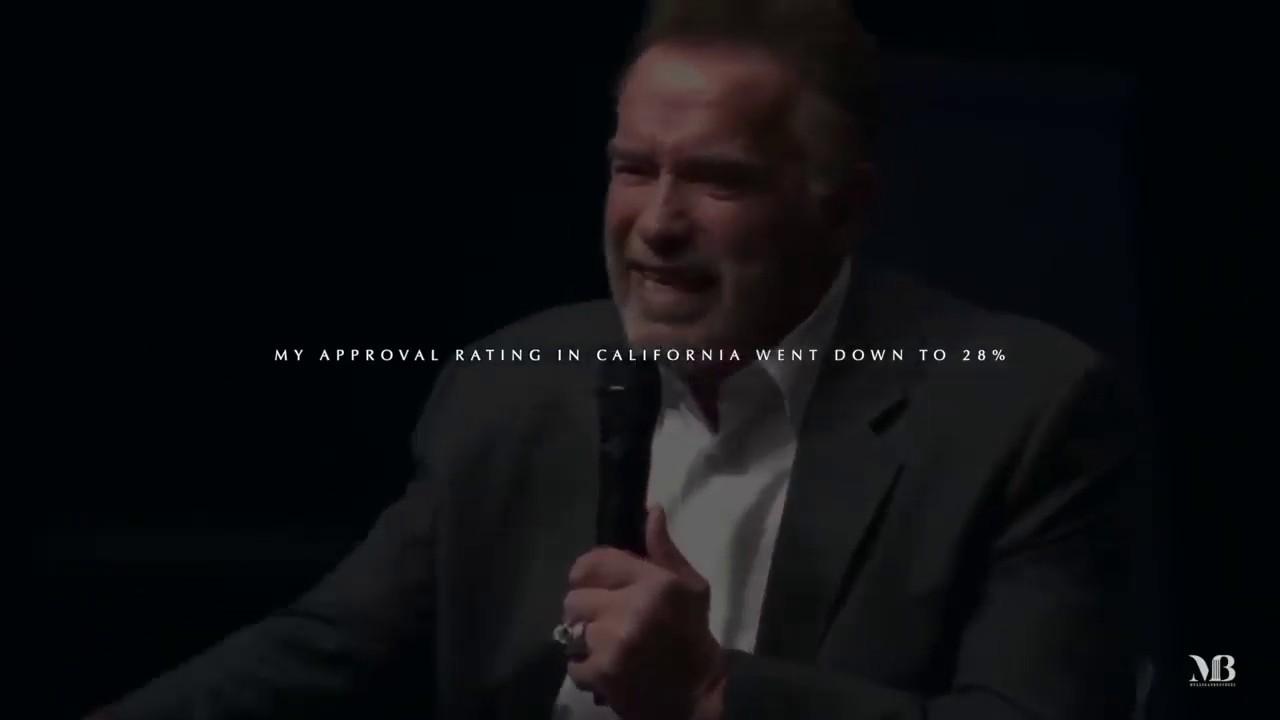Arnold Schwarzenegger The Speech That Broke The Internet Most Inspiring Speech Ever