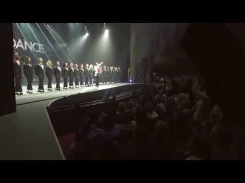 Michael Flatley performing Planet Ireland at the Lyric Theatre Broadway