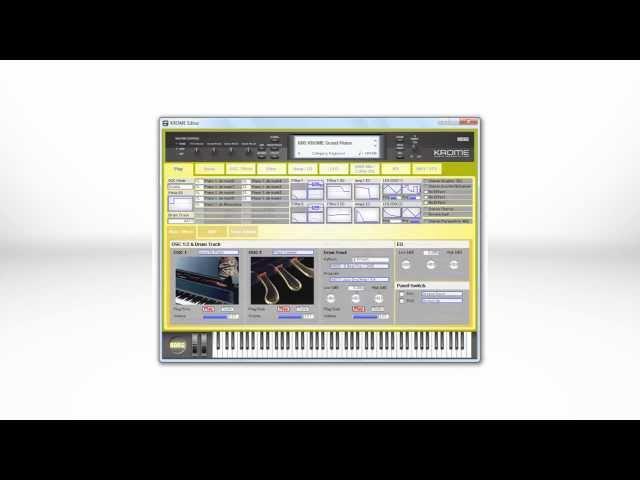 Korg Krome Workstation – Synthtopia