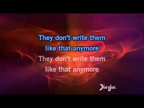Karaoke The Breakup Song (They Don't Write...