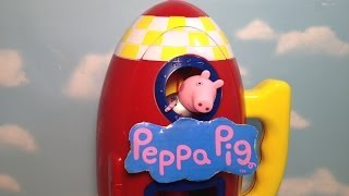 Nickelodeon Peppa Pig The Peppa Pig Space Ship a BBC Peppa Pig Toy Episode