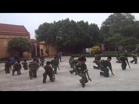 16 dong tac vo - Trung doi 1