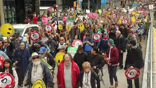 March for Life disrupts downtown core