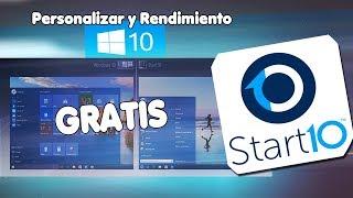 WINDOWS 10: Personaliza y Mejora el Rendimiento | Start Menu 10 en Español