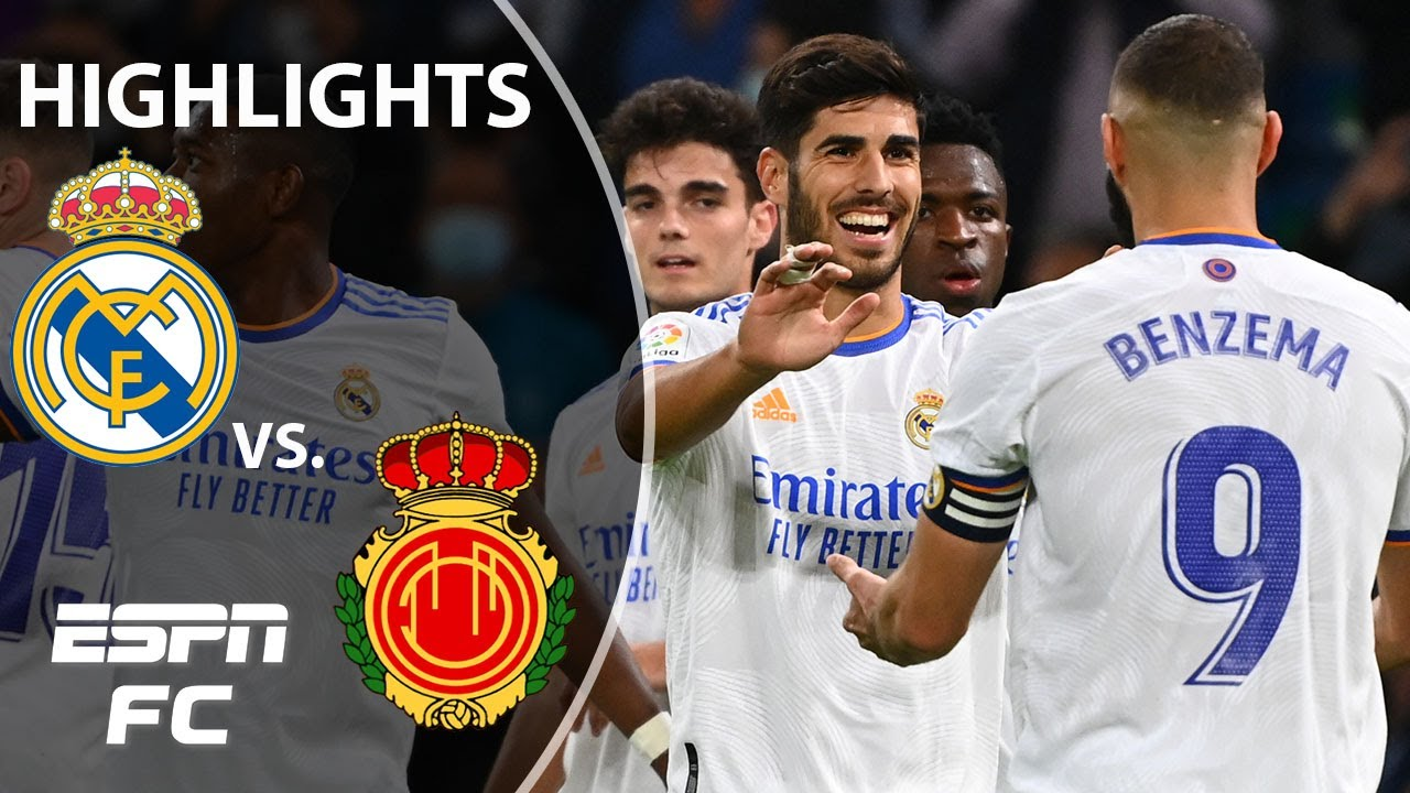 Download Marco Asensio scores hat trick as Real Madrid thumps Mallorca 6-1 win | LaLiga Highlights | ESPN FC