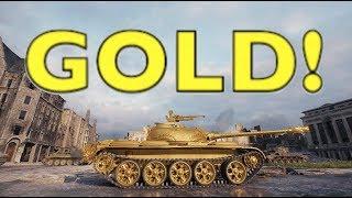WOT - GOLD | World of Tanks