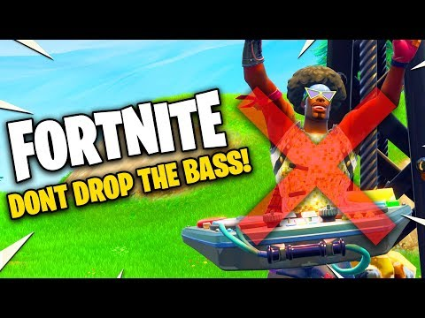 Do NOT Drop the Bass in FORTNITE You Wont Win