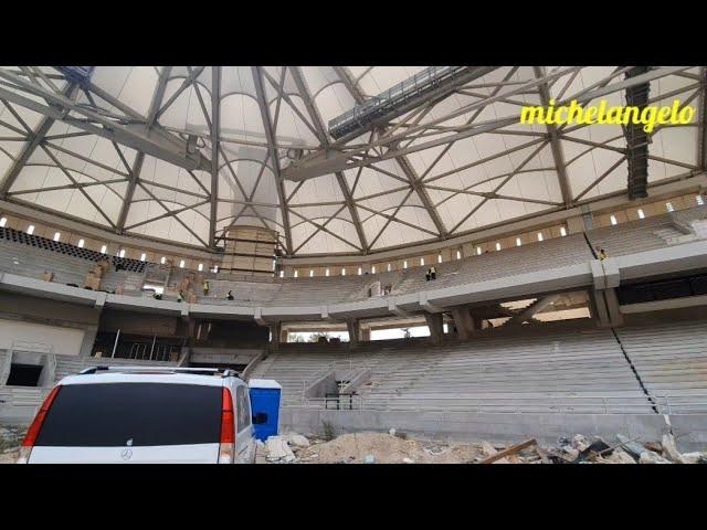Αγιά Σοφιά: Προχωρά ταχύτατα η τοποθέτηση των καθισμάτων! (video)