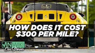 Here's why this Ferrari costs $300/mile to drive