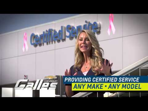 Galles Chevrolet Services All Makes and Models - YouTube