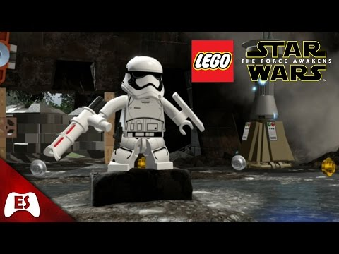 Lego Star Wars: The Force Awakens TR8R / FN-2199 Gameplay