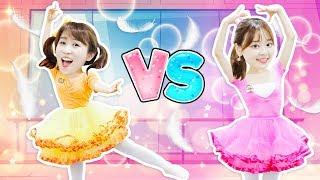 小伶VS夏天 誰是最佳芭蕾舞者?異想天開的芭蕾舞教室!小伶玩具 | Xiaoling toys