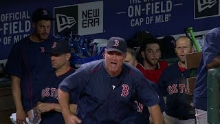 BOS@TEX: Napoli, Farrell get ejected for arguing