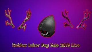 Roblox Labor Day SALE 2019 LIVE   Road to 1.2k   Bighead?