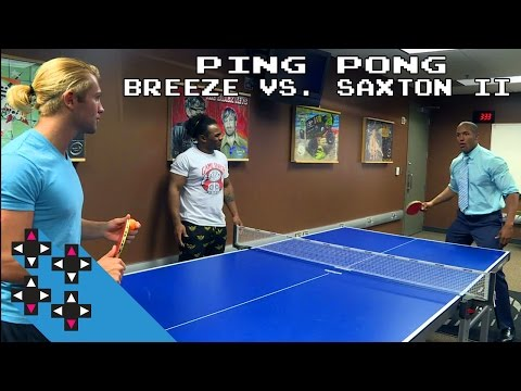 Tyler Breeze vs. Byron Saxton II: Ping Pong payback for Saxton? — Gamer Gauntlet