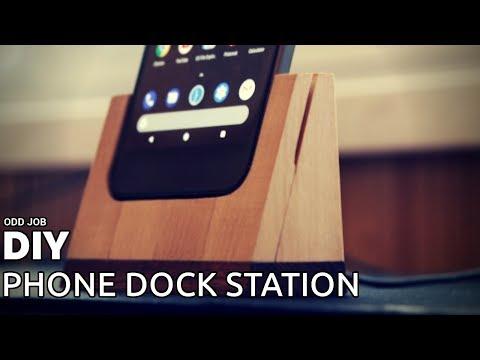 DIY Phone Dock Station