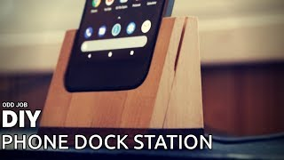 DIY Phone Dock Station