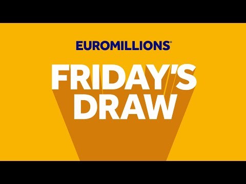 The National Lottery 'EuroMillions' Draw Results From Friday 25th September 2020