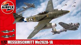 AIRFIX 1/72 Me 262 - a Basic Look In The Box