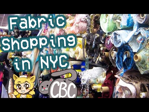 Fabric Shopping in NYC: What you Need to Know (ft. CowbuttCrunchies!!)