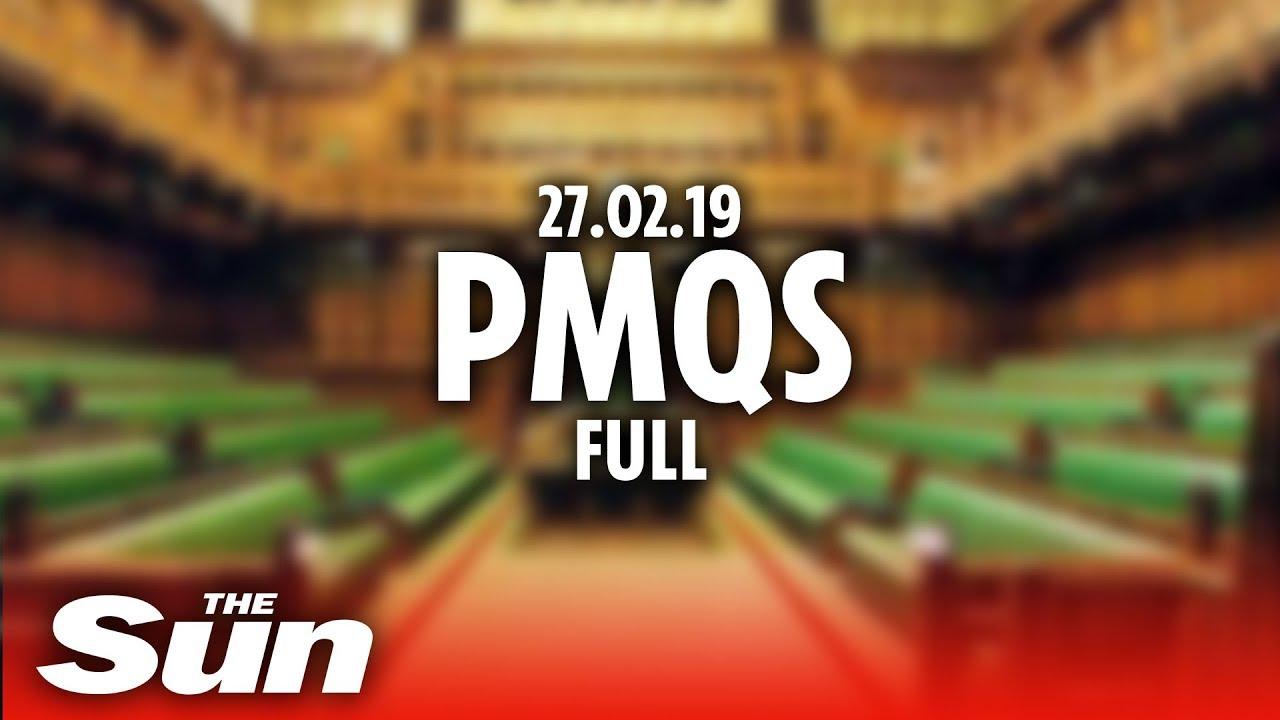 PMQs (27.07.19) Full