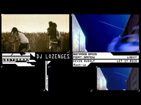 Kevin Rudolf / Benassi - Let it Rock [Remix/Mashup] : HD Music Video